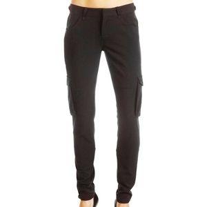 JOE'S JEANS Black Stretch Women Cargo Skinny Pants